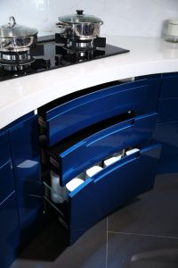 Welbom Best Selling Lacquer Kitchen Cabinet pictures & photos