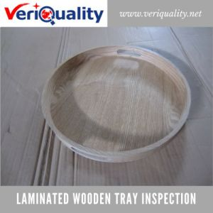 Laminated Wooden Tray Quality Control Inspection Service at Fuzhou, Fujian pictures & photos