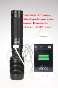 Multi Function LED Flashlight Torch pictures & photos