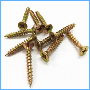 3.5 4.0 4.5mm Wood Carbon Steel Chipboard Screw pictures & photos