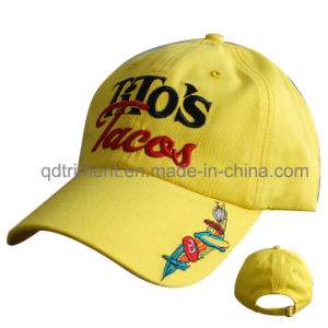 Custom Cotton Chino Twill Embroidery Leisure Baseball Cap (TMB6458) pictures & photos