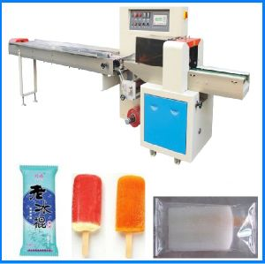 Ice Lolly Horizontal Flow Wrapping Machine (MQD-250C) pictures & photos