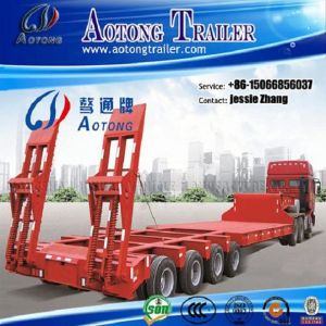 Hot Sale 150ton Heavy Load Low Bed Truck Trailer pictures & photos