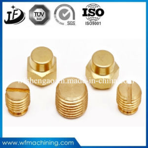Copper Brass Alloy CNC Lathe Machining Parts by Customers′ Design pictures & photos