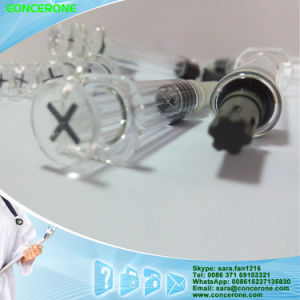 10ml Plastic Prefilled Cosmetic Syringe with Screw Piston and Plunger pictures & photos