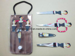 RMS-001-4 4PCS Girl Pattern Manicure Set pictures & photos