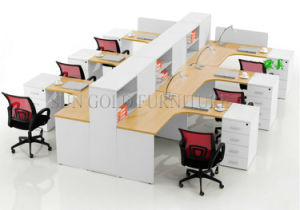 Newest Office Workstatiton Modular Workstation Partition Office Furniture (SZ-WS158) pictures & photos