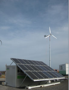 Anhua off Grid Solution Plan with Pitch Controlled Wind Turbine and Solar Module pictures & photos