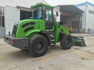 Hzm 3 Ton Wood Saw Machine Wheel Loader for Sale pictures & photos