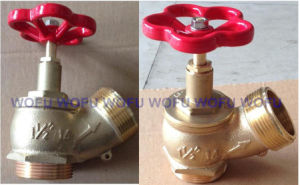 "1.5"" Brass Landing Valve 710g pictures & photos"