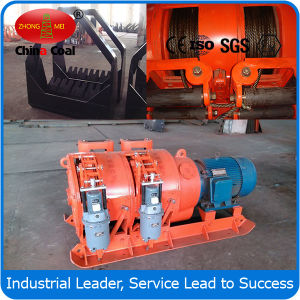 Remote Control Customized Double Drums Scraper Winch 2jp-55 pictures & photos
