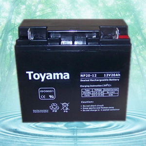 12V20ah Advanced Sealed Lead Acid Storage Battery UPS pictures & photos