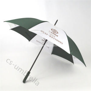 "27"" Double Rib Golf Advertising Promotion Umbrella (YSS0102) pictures & photos"