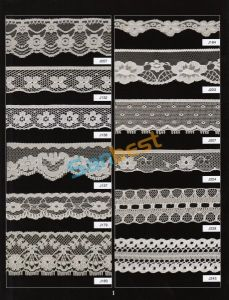Different Designs High Quality Beautiful Nylon Lace for Clothes pictures & photos