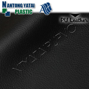 Fully Stock Multicolored 100% PU Synthetic Leather for Shoes Bags pictures & photos