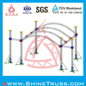 Truss Project, Aluminum Stage Speaker Lighting Truss for Wedding, Performance Project pictures & photos
