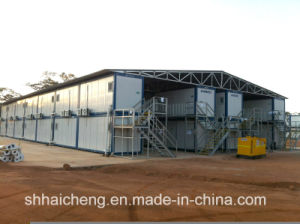 Camp of Construction Site Built of Prefab Container (shs-fp-camp061) pictures & photos