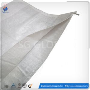 White PP Laminated 50kg Woven Bag with Liner pictures & photos