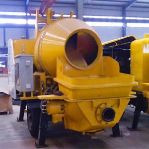 Concrete Machine for Construction Jbt30 Concrete Mixer with Pump pictures & photos