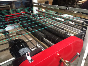 High Speed Double Layer PE Plastic Flat Bag Making Machine Price pictures & photos