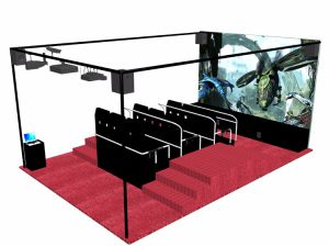 Hot Sale 9d Cinema Theater Type Truck Trailer From Guangzhou Manufacturer pictures & photos