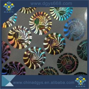 Custom Blue Color Holographic Security Hologram Adhesive Labels pictures & photos