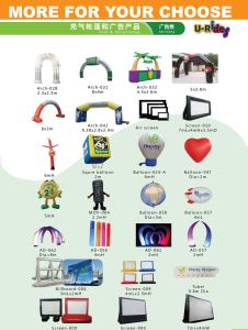 Doll Inflatable advertising products for promotion pictures & photos