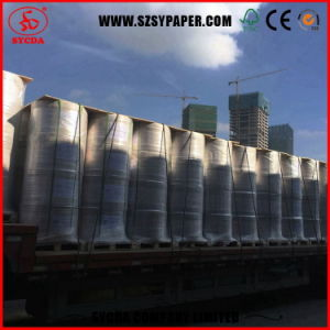 Wood Pulp Coated Thermal Paper Jumbo Rolls pictures & photos