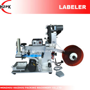 Semi-Auto Flat Labeling Machine with Coder/Coding Machine From China pictures & photos