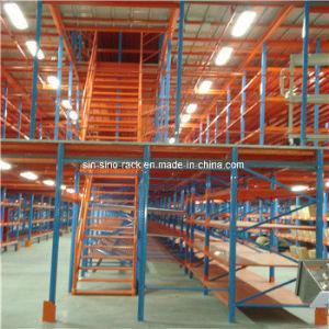 Heavy Duty Mezzanine Floor Rack with Carton Flow Rack pictures & photos