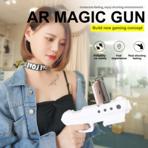 2017 Best Selling Bluetooth ABS Ar Gun Plastic Virtual Reality Shooting Games pictures & photos