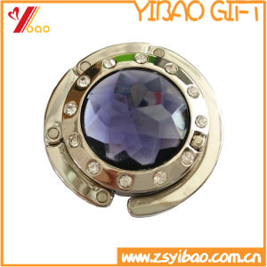 Round Custom Purse Hanger with Shiny Stone pictures & photos