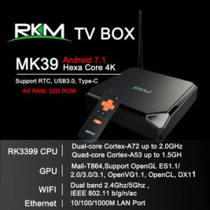 Rk3399 Android TV Box with USB 3.0 and Type C pictures & photos
