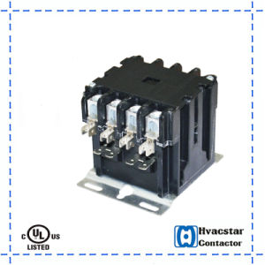 Best-Selling Hcdp Series Air-Con Air Conditioner AC Contactor for 4p 40A 24V Outdoor Motor pictures & photos