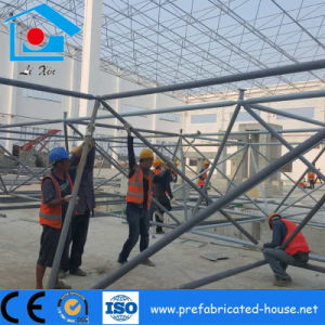 Large Span Steel Space Truss as The Steel Workshp Roofing pictures & photos