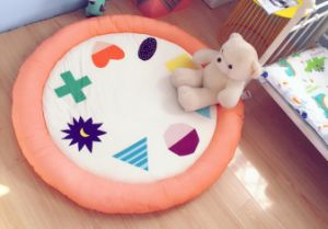 New Arrival Round Rugs Soft Kid′s Home Carpet Play-Mat pictures & photos