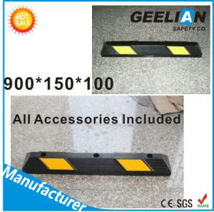 55mm Rubber Wheel Stopper Car Parking Safety pictures & photos
