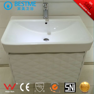 New Style Soild Wood Material Bathroom Cabinet (BY-X7098) pictures & photos