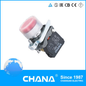 Protruding Button Pushbutton Switch with Cover IP65 pictures & photos