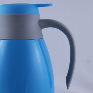 Colorful Plastic Glass Inner Coffee Thermos Water Vacuum Jug (JGGR) pictures & photos