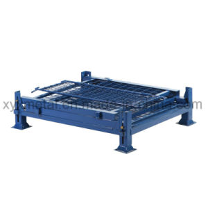 Warehouse Storage Stackable Collapsible Cage Pallet Stillage pictures & photos