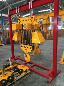 Mg Model Double Girder Movable Winch Gantry Crane pictures & photos