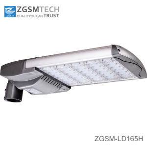 165W High Quality IP66 LED Road Light LED Street Light with Photo Cell pictures & photos