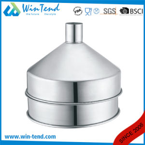 Economic Commercial Hotel Restaurant Kitchen Stainless Steel Oil Filter Funnel pictures & photos