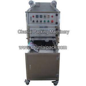 Kis-4 Vertical Plastic Cup Vacuum Sealing Machine pictures & photos