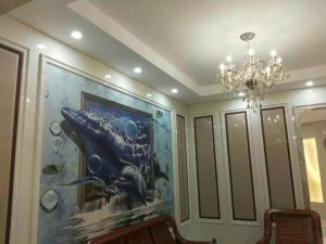 Nano Glass Artificial Stone Background Wall Decoration pictures & photos
