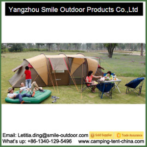 Rooftop Round Tube Family Luxury Camping Tent Making Supplies pictures & photos