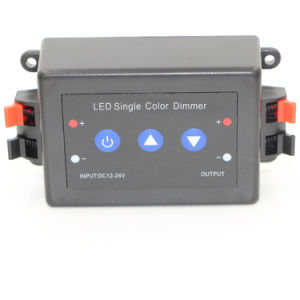 DC 12-24V 1*8A 3 Key Single-Color RF LED Dimmer pictures & photos