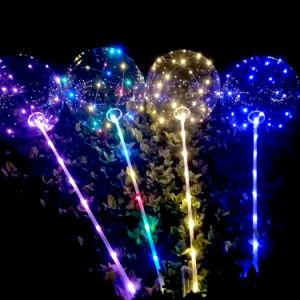 LED Christmas Light Bobo Balloon for Wedding Decoration pictures & photos