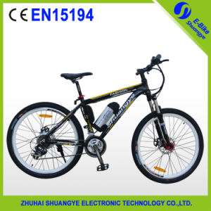 Aluminum Alloy Mountain Electric Bike with Pedals and Cheap Price pictures & photos
